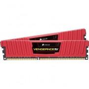 Corsair CMK32GX4M2B3200C16R Vengeance LPX Kit di Memoria per Desktop a Elevate Prestazioni da 32 GB, 2 x 16 GB, DDR4, 3200 MHz, C16, con Supporto XMP 2.0, Rosso