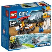 Set de constructie LEGO City Set pentru Incepatori Garda de Coasta