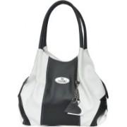 FD Fashion trendy Shoulder Bag(White & Black, 5 L)