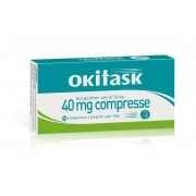 Dompe' Farmaceutici Spa Okitask 40 Mg Compressa Rivestita Con Film, 10 Compresse In Blister Al/Al