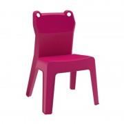 Resol - Conjunto de 4 cadeiras infantis fúcsia JAN FROG - RESOL