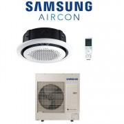 Samsung Climatizzatore Condizionatore Inverter Samsung Cassetta 360° 30000 Btu Ac090mn4pkh A++/a+ Con Comando Wireless