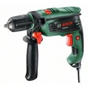 Maşină de găurit cu percuţie Bosch PSB Easy 0603130002, 550 W, 300 rpm, Negru/Verde