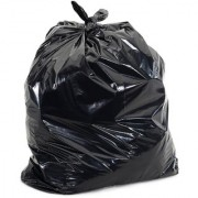 DISPOSABLE DUSTBIN CUM GARBAGE BAGS PACK OF 180 BAGS 17 INCHES BY 23 INCHES 50+ MICRONS