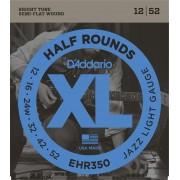 D'Addario EHR 350 half round, jazz light
