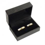 Koženková dárková krabička na snubní prsteny ZH-7/A25/A25