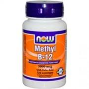 Now Methyl B-12, 5000 mcg, 120 db rágótabletta