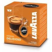 Capsule cafea Lavazza A Modo Mio Delizioso, 16 buc