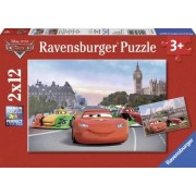 PUZZLE CARS 2x12 PIESE Ravensburger