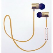 Sports Bluetooth Earphones with Mic Audio Control Buttons - Wireless Headphones for Mobiles