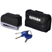 Oxford Screamer Alarm Disco de bloqueo Negro