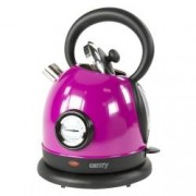 Fierbator Ceainic Camry din Otel Inoxidabil Capacitate 1.8L Putere 2200W Culoare Violet