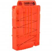 Clips De Bala Suaves 5 Balas Para Nerf N-strike Pistola Juguete - Naranja Transparente
