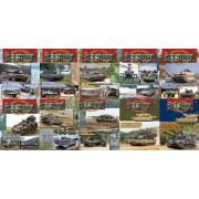 Concord Publications Assault Journal Set # 1 - Vol.1 to 10