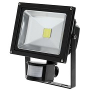 Proiector LED cu senzor de miscare 20W 3000K