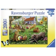 PUZZLE Copii 8Ani+ ANIMALUTE JUCAUSE, 200 PIESE