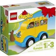 Конструктор ЛЕГО ДУПЛО - Моят първи автобус - LEGO DUPLO, 10851