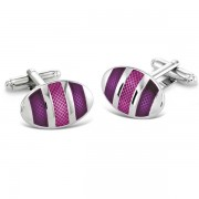 Duncan Walton Kinver Cufflinks Purple C2707