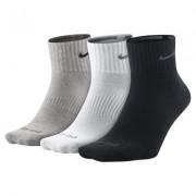 Nike Dri-FIT Non-Cushion Quarter Socks (Large/3 Pair)