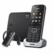 Siemens Gigaset SL450 Teléfono Dect + Manos Libres Bluetooth Negro