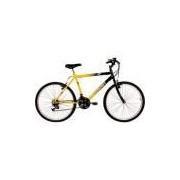 Bicicleta Verden Live Aro 26 18V Preto/Amarelo
