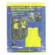 Veiligheidsvest kind geel