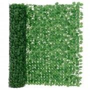 [neu.haus]® Levéllel borított drótkerítés - 300 x 150cm