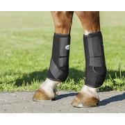 USG (Black, Large) Breathopren Fetlock Boot with Tape Closing, Hind, Size L, Black