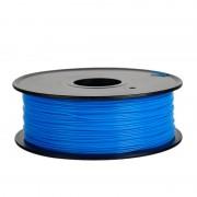 Filament pentru Imprimanta 3D 1.75 mm ABS 1 kg - Albastru Fluorescent
