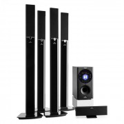 Auna Areal 653 5.1-Kanals-Surround-System 145W RMS Bluetooth USB SD AUX