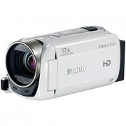 Canon VIXIA HF R500 Digital Camcorder (White) (Discontinued by Manufacturer)