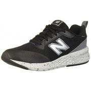 New Balance Boys' 515v2 Running Shoe, BLACK/LEAD, 10.5 M US Little Kid