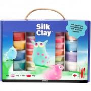 Silk Clay® presentask, 1 set, mixade färger
