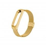 Correas de pulsera de Metal para mi Band 4 correa de reloj inteligente reemplazo de pulsera de acer