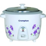 Crompton MRC61 Electric Rice Cooker(1.5 L, White)