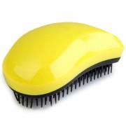 V&V rozčesávací kartáč na vlasy Detangling Comb žlutá