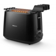 Philips HD2583 600 W Pop Up Toaster(Black)