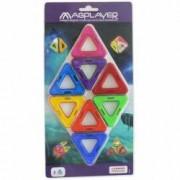 Joc de constructie magnetic Magplayer - 8 piese