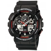Ceas barbatesc Casio G-Shock GA-100-1A4 Bold Face. Tough Body