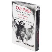 Scary Stories Paperback Box Set: Scary Stories to Tell in the Dark, More Scary Stories, Scray Stories 3