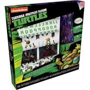 Savvi Nickelodeon Teenage Mutant Ninja Turtles (9x9) Play Along Tattoo & Sticker Collectors Activity Art Kit