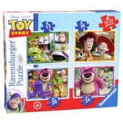 Puzzle 3Ani+ Disney Toy Story 4 BUC, 12/16/20/24 Piese