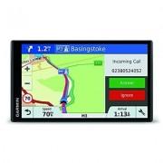 """Garmin Drivesmart 61 EU LMT-D - Navigatore 6.95"""" Edge-To-Edge Smart, Mappa Europa Completa, Aggiornamento A Vita E Servizi Live Via Bluetooth E Infotraffico Dab"""