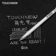 Touchnew 20PCS/Set 0.8MM Art Marker White Ink Color Photo Album markers Gel Pen Unisex Wedding Pen Gift for Kids Art supplies