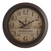 Oak Furnitureland Clocks - Canet Wall Clock - Oak Furnitureland