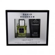 David Beckham Instinct подаръчен комплект EDT 30ml + 150ml душ гел за мъже