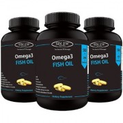 Sinew Nutrition Fish Oil 500mg (150EPA 100DHA) 60 Softgels (Pack of 3)