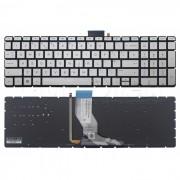 Tastatura Laptop HP 250 G6 alba iluminata + CADOU
