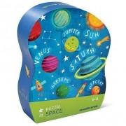 Puzzle Explorarea Spaţiului în Cutie cu Formă Originală