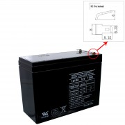 12V 10Ah SLA Battery Rechargeable AGM replaces UB12100-S, D5719